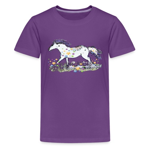 Star-Horse - Teenager Premium T-Shirt