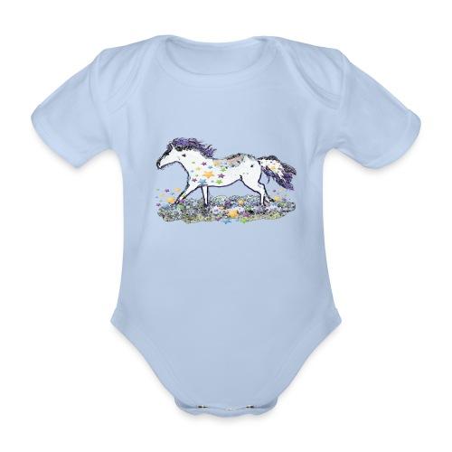 Star-Horse - Baby Bio-Kurzarm-Body