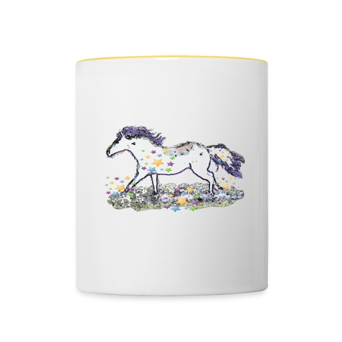Star-Horse - Tasse zweifarbig