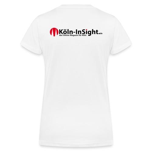 Köln-InSight Frauen Top - Frauen Bio-T-Shirt mit V-Ausschnitt von Stanley & Stella
