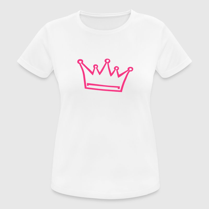 crown, princess, prince T-Shirts - Women's Breathable T-Shirt