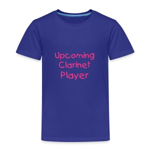 Upcoming Clarinet Player (Kids) - Kids' Premium T-Shirt