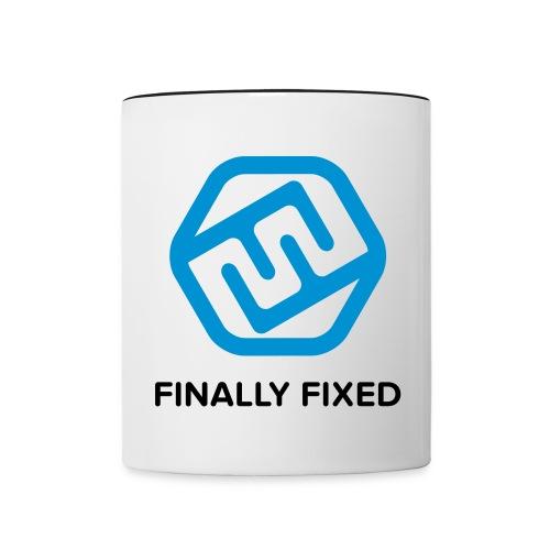 FFxd Tasse - Tasse zweifarbig