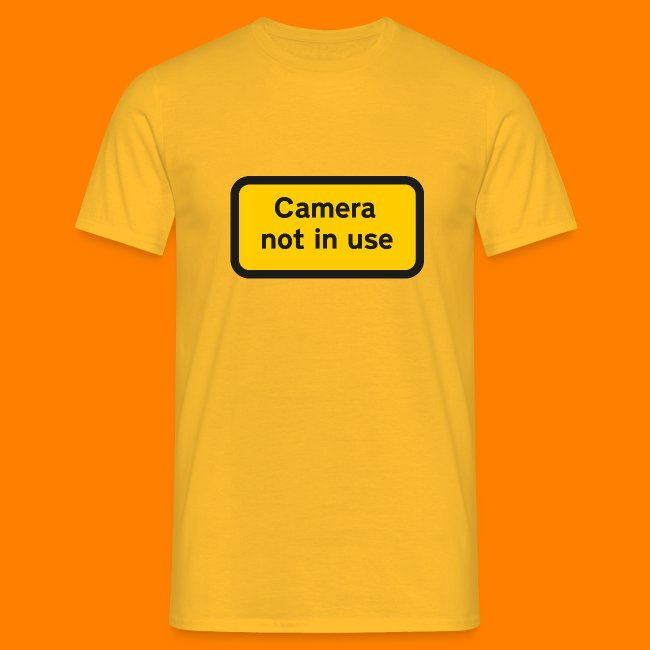 Camera not in use