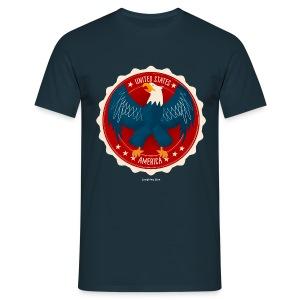 USA Eagle Men's T - Men's T-Shirt