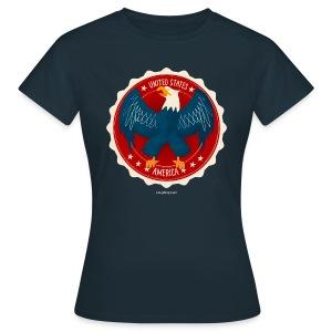 USA Eagle Women's T - Women's T-Shirt
