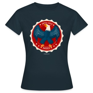 USA Eagle Women's T - Women's T-Shirt