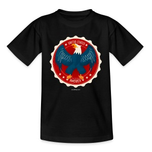 USA Eagle Kids T - Kids' T-Shirt