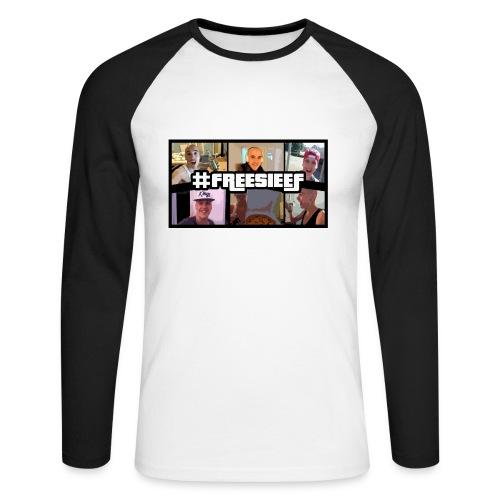 Alberto Sieef - Baseball Shirt - Männer Baseballshirt langarm