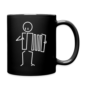 Accordionist [double-sided] - Full Colour Mug