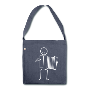 Accordionist - Shoulder Bag made from recycled material