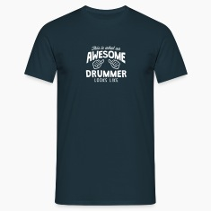 awesome drummer looks like