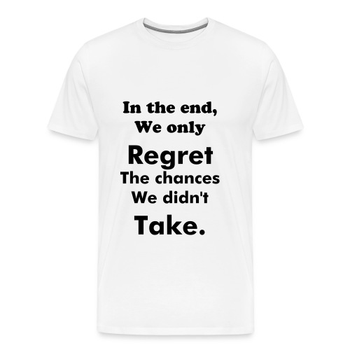 In the end - Premium-T-shirt herr