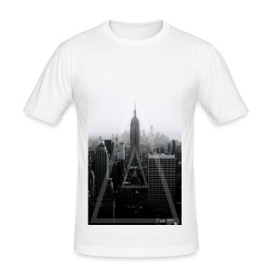 NYCPhototriangle - Men's Slim Fit T-Shirt