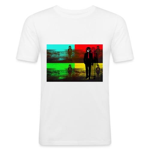 BeachPopArt - Men's Slim Fit T-Shirt