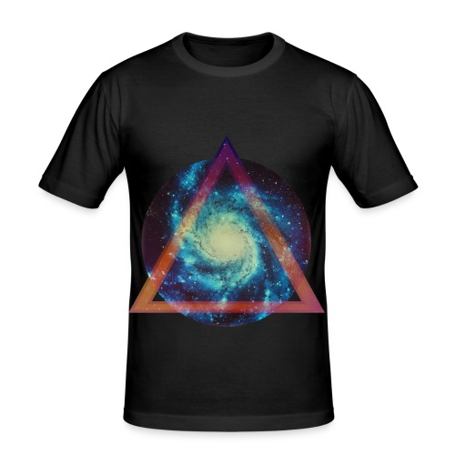 CosmoTriangle - Men's Slim Fit T-Shirt