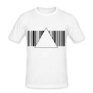 BarCodeTriangle - Men's Slim Fit T-Shirt