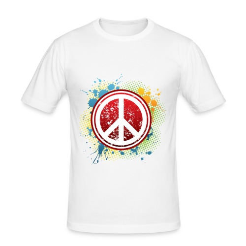 PeaceGraph - Men's Slim Fit T-Shirt