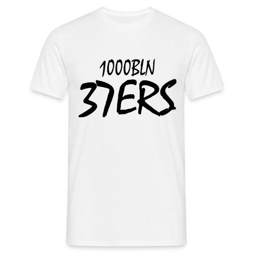37ERS Tshirt Male Weiß - Männer T-Shirt