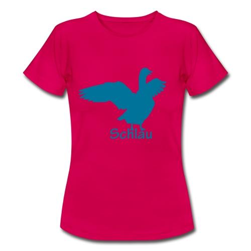 Gans - Schlau - Frauen T-Shirt