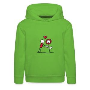 LOVEshirt Flower friend  - Kinder Premium Hoodie