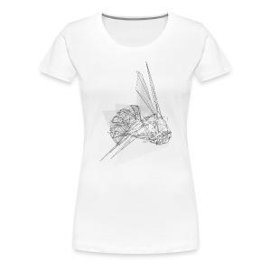 Linear Wasp - Frauen Premium T-Shirt