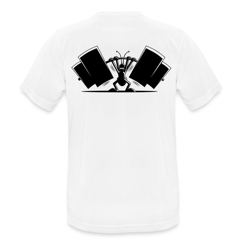 Power Ant Atmungsaktiv - Männer T-Shirt atmungsaktiv