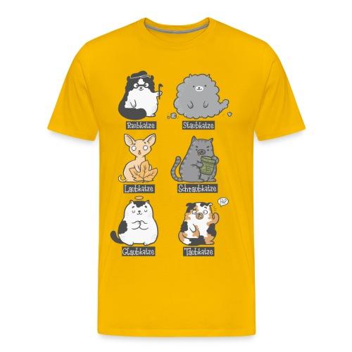 Aubkatzen - Männer Premium T-Shirt