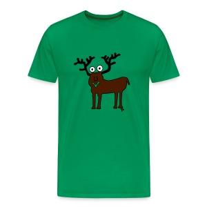 Der Hirsch für den Mann - Männer Premium T-Shirt