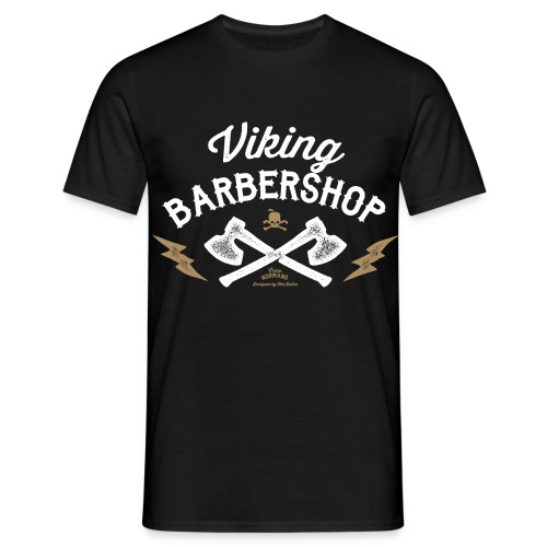 Viking Barbershop - Herre-T-shirt