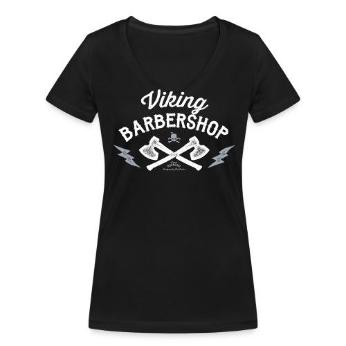 Viking Barbershop - Økologisk Stanley & Stella T-shirt med V-udskæring til damer
