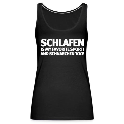 Frauen Tank Schlafen - Frauen Premium Tank Top