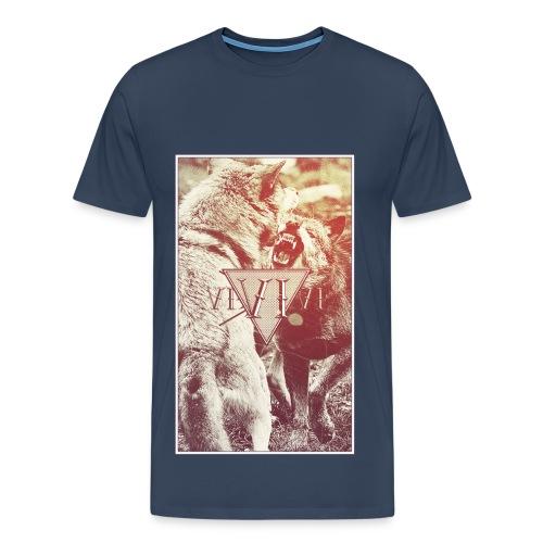Wolfy - Maglietta Premium da uomo