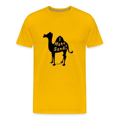 Camel Slogan T-Shirt - Men's Premium T-Shirt