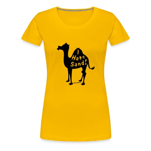 Camel Slogan T-Shirt - Women's Premium T-Shirt