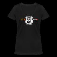 T-paidat ~ Naisten V-kaula-aukkoinen t-paita ~ CafeRoute66 t-shirt girls