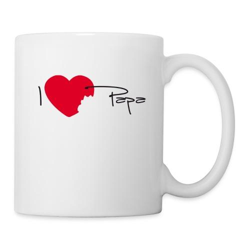 Tasse J'aime mon papa - Mug blanc