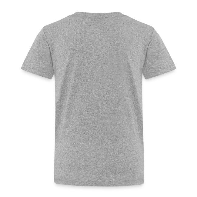 T-shirt Enfant - Calligramme La cravate blanc