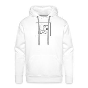 HOODIE BLANC · TEAM ALEX BLACK - Sweat-shirt à capuche Premium pour hommes