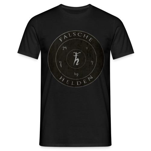 Falsche Helden - O-Logo-Shirt  - Männer T-Shirt