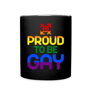 Proud to be Gay (bunt) - Tasse einfarbig