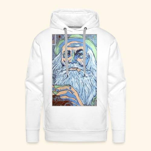 Vieux sage - Sweat-shirt à capuche Premium pour hommes