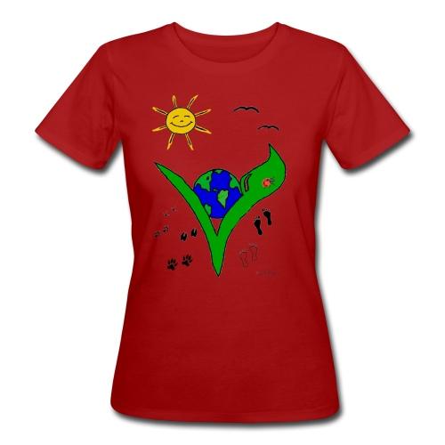 veggie BIO-Shirt für Frauen - Frauen Bio-T-Shirt