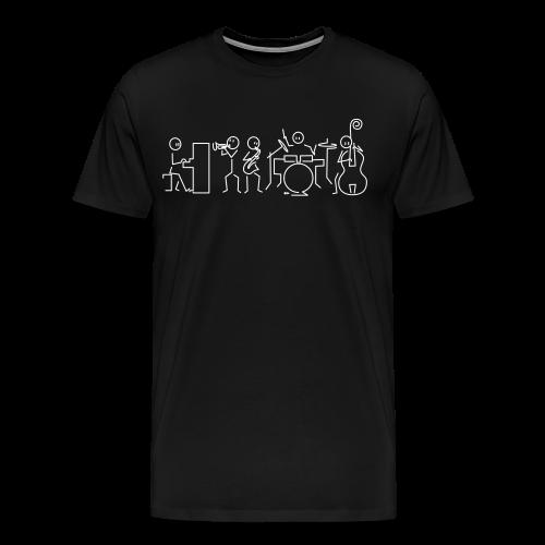 Jazz band - Men's Premium T-Shirt