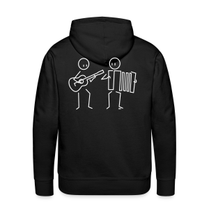 Duo guitar / accordion - Men's Premium Hoodie