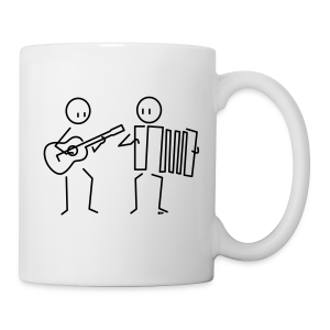 Duo guitar / accordion [single-sided] - Mug