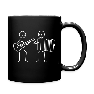 Duo guitar / accordion [double-sided] - Full Colour Mug
