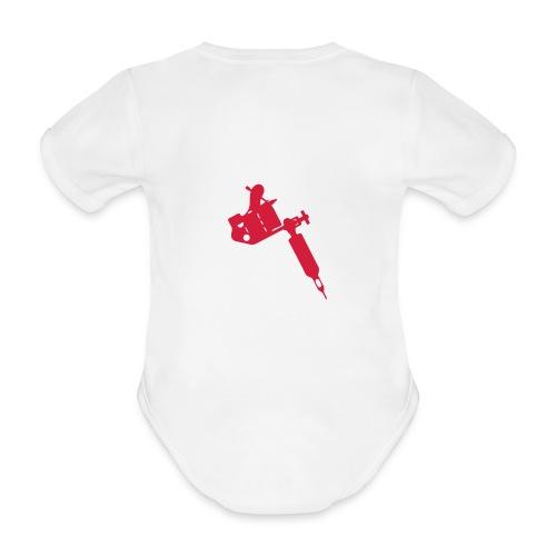 InkCin  - Baby bio-rompertje met korte mouwen