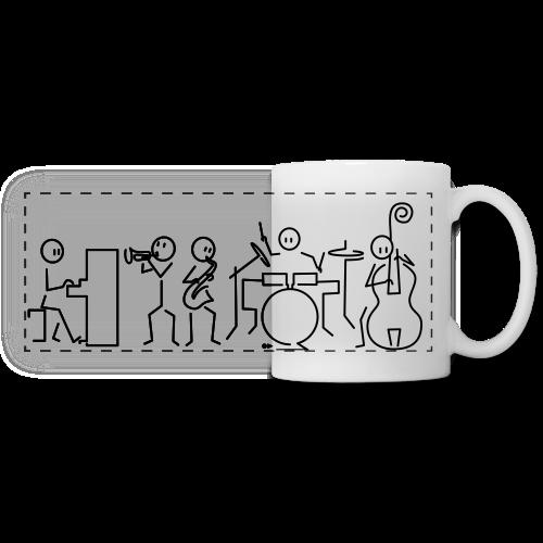 Jazz band - Panoramic Mug