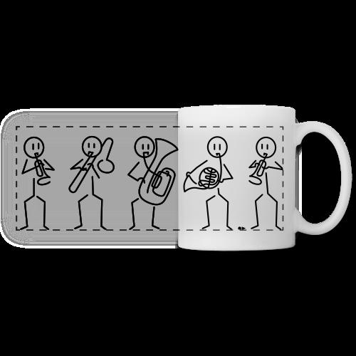 Brass quintet - Panoramic Mug